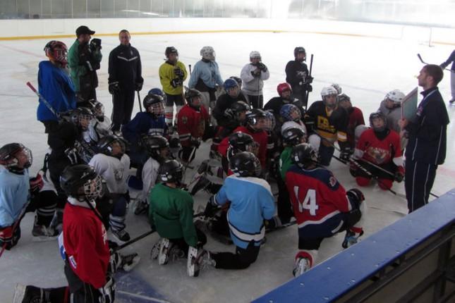 Hokejaši Spartaka učestvovali u međunarodnom kampu u Budimpešti