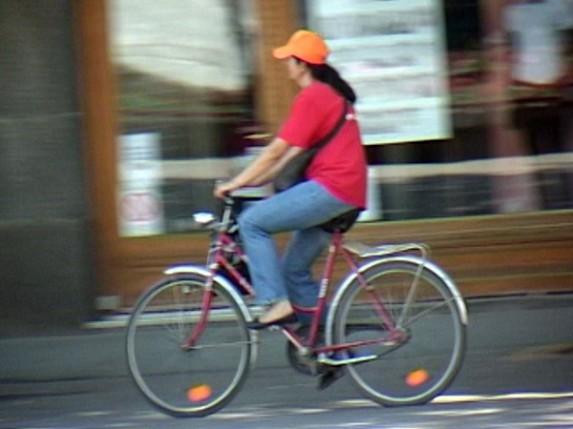 Vožnja bicikla po Korzu je problem?