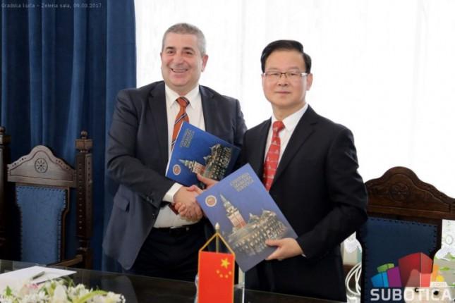 Potpisan Sporazum o saradnji Subotice i kineskog grada Šaosinga