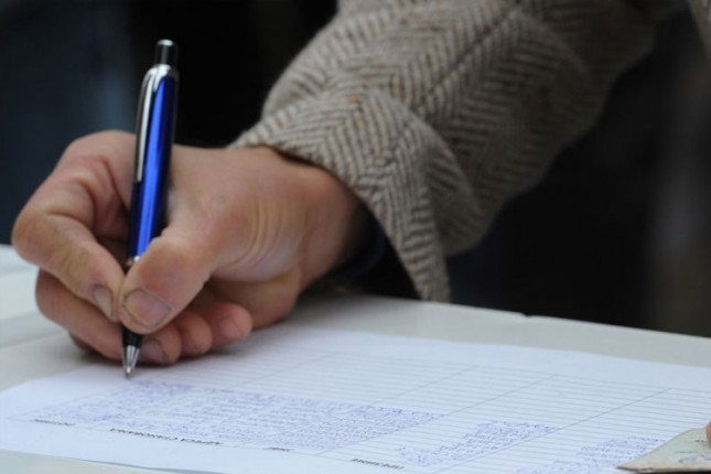 Potpisivanje peticije za izmenu Zakona o PIO i zdravstvenom osiguranju