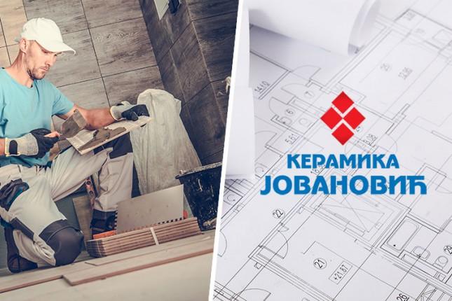 """Korisni saveti  iz """"Keramike Jovanović"""" za renoviranje kupatila"""