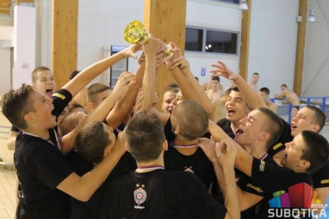 Vaterpolisti Spartak-Prozivke (U15) viceprvaci Srbije