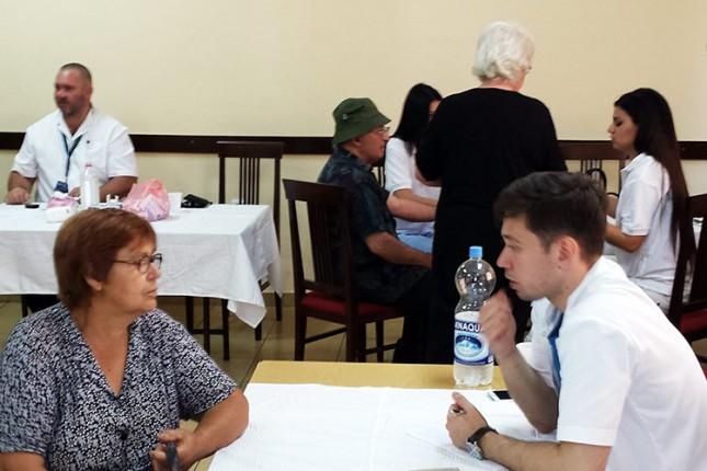 Održana besplatna provera zdravlja meštana Prozivke i Dudove šume