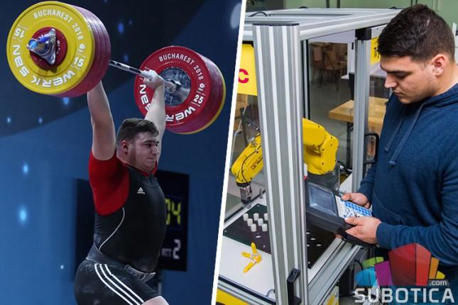 """""""Talenat na dar"""" - Tamaš Kajdoči, uspešan sportista i primeran student"""