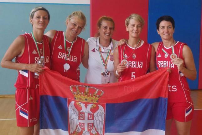 Veteranke iz Subotice viceprvakinje sveta u košarci