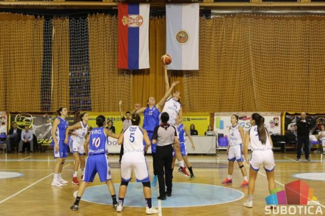 Košarka (Ž): Spartak poražen od Beočina (53:76)