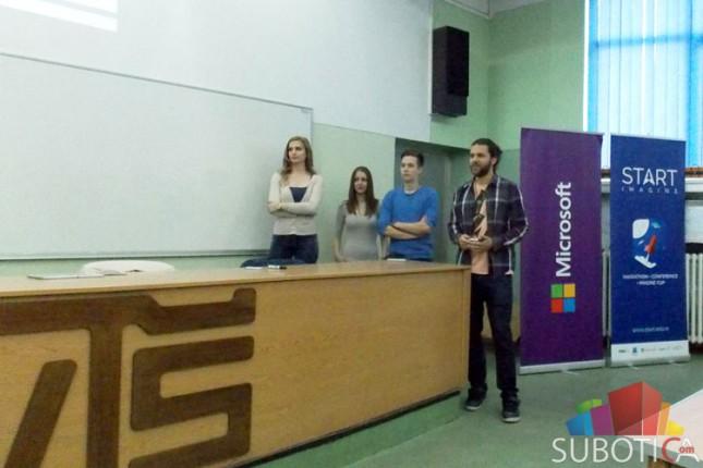 Predstavnici Microsofta u poseti Visokoj tehničkoj školi (VTŠ)