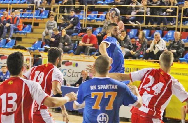 Rukomet: Arđelanova odbrana u dramatičnoj završnici za novu pobedu Spartaka