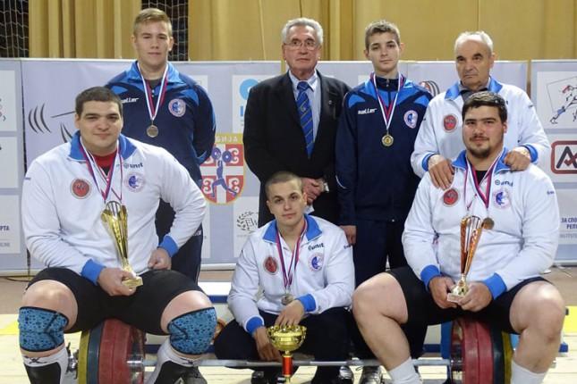 Dizanje tegova: Spartak osvojio 19. titulu prvaka države