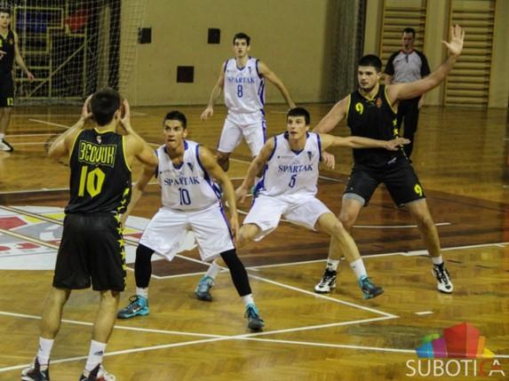 Pobeda košarkaša Spartaka protiv Beovuka (95:90)