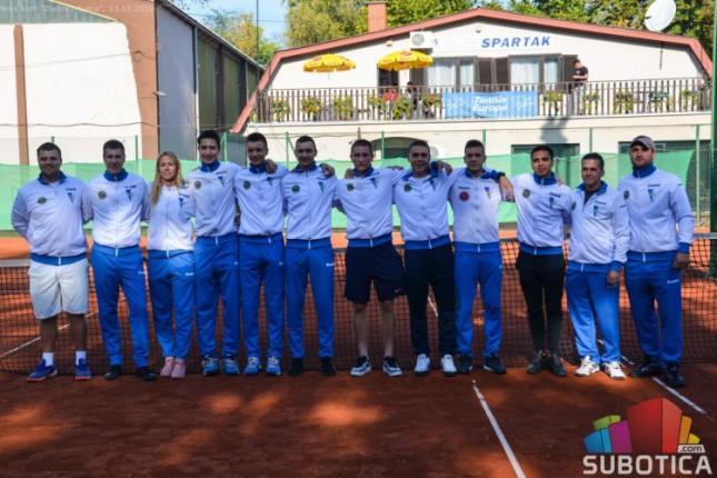 Tenis: Spartak ekipni seniorski prvak i u muškoj konkurenciji