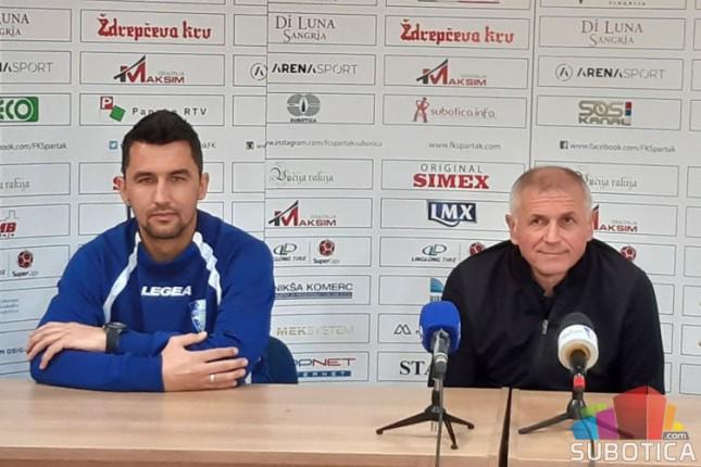 Fudbal: Spartak dočekuje Mladost u sredu
