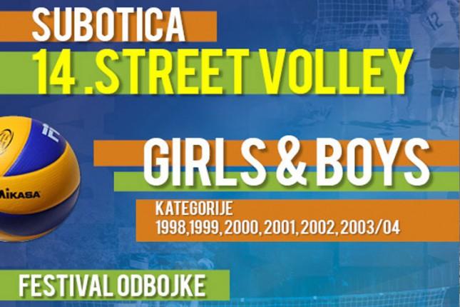 14. Streetvolleyball turnir održaće se u nedelju