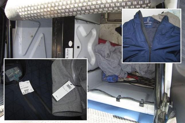 Sprečeno krijumčarenje garderobe u vrednosti 5.000 evra