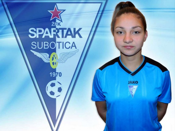 "Milana Knežević, novo pojačanje ŽFK ""Spartak"""
