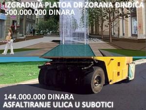 Za asfaltiranje 144, a za Plato 500 miliona