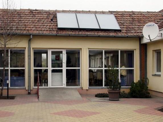 Solarni kolektori na Domu za negu