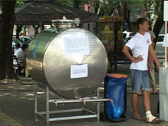 Besplatna pijaća voda na više lokacija u gradu