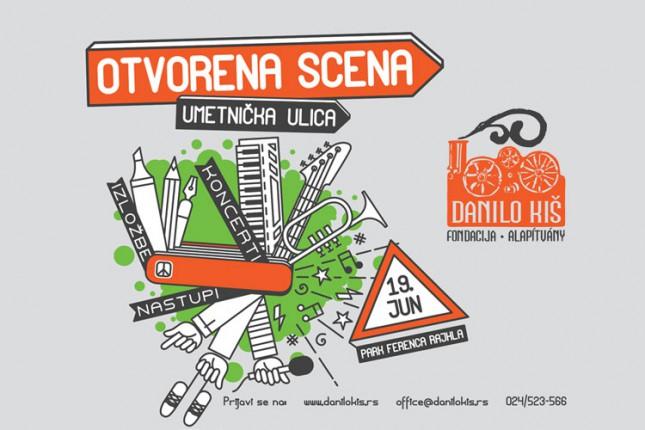 """""""Otvorena scena - Umetnička ulica"""" u sredu u Parku Ferenca Rajhla"""