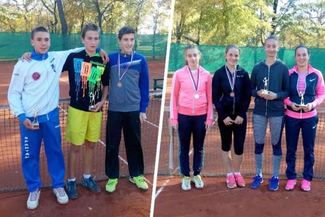 Teniseri Spartaka u obe konkurencije osvojili Masters za igrače do 14 godina