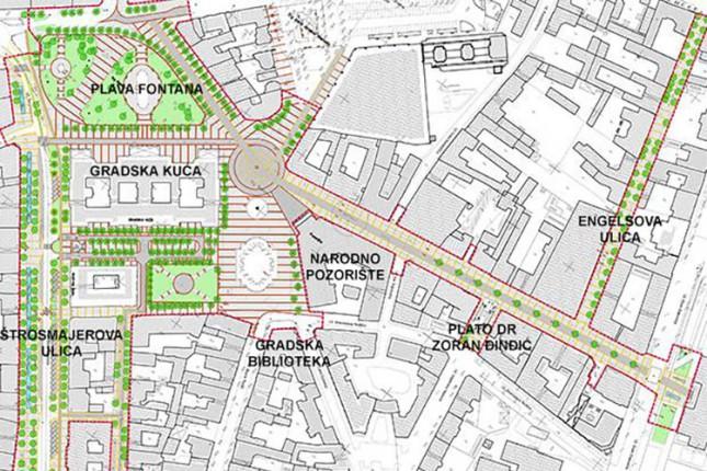 """""""Urbani vrtlog"""" proširuje pešačku zonu"""