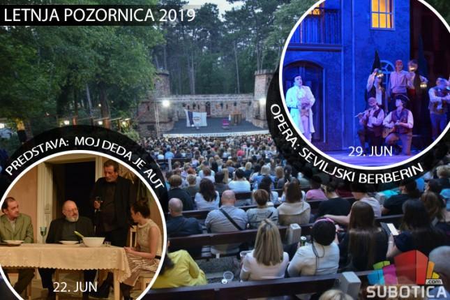 """Predstava """"Moj deda je aut"""" i opera """"Seviljski berberin"""" u junu na Letnjoj pozornici"""
