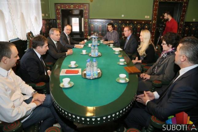 Delegacija iz Švedske u poseti Subotici