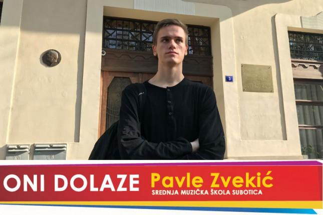 Oni dolaze: Pavle Zvekić, učenik Srednje Muzičke škole