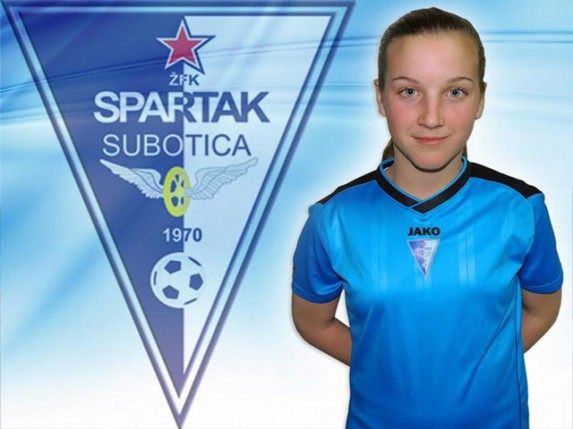 Nova igračica među fudbalskim nadama subotičkog šampiona