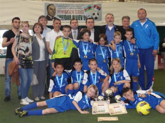 Spartakova generacija 2003. godište pobednici Memorijalnog turnira u Beogradu