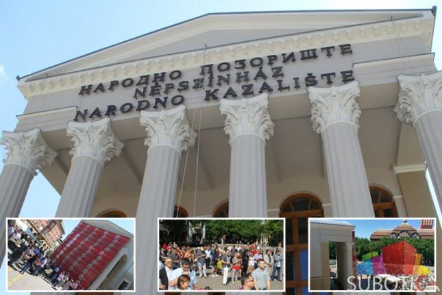 Otkrivena fasada Narodnog pozorišta