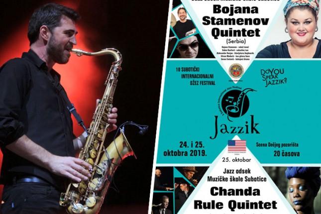 "Domaće i strane džez zvezde na jubilarnom 10. ""Jazzik"" festivalu"