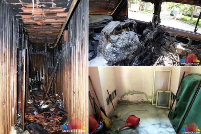 U požaru na Teslinom nastradala starica, četvoro povređenih