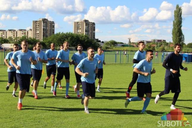 Fudbaleri Spartaka počeli pripreme za novu sezonu