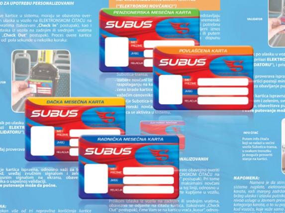 SuBus elektronski novčanici sve popularnji