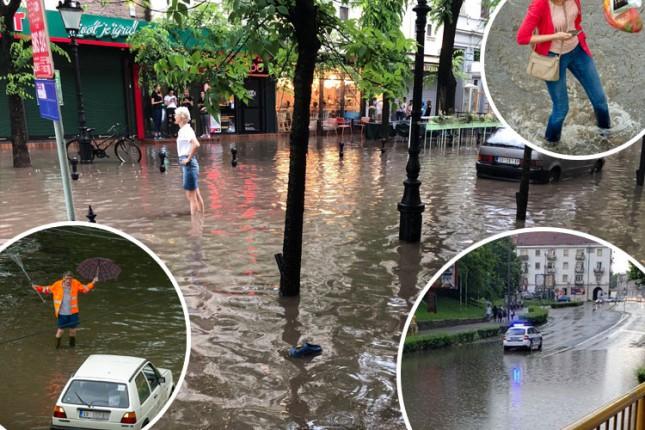 Poplave su posledica jakih kiša i slabog kapaciteta odvoda