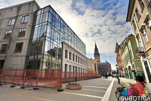 Radovi na VI fazi rekonstrukcije Narodnog pozorišta u punom jeku