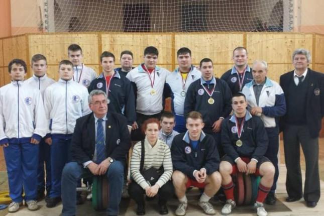 Uspešan nastup dizača tegova Spartaka na Prvenstvu Vojvodine
