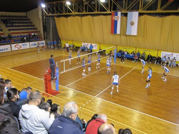 Pobeda odbojkašica Spartaka protiv Kolubare (2:3)