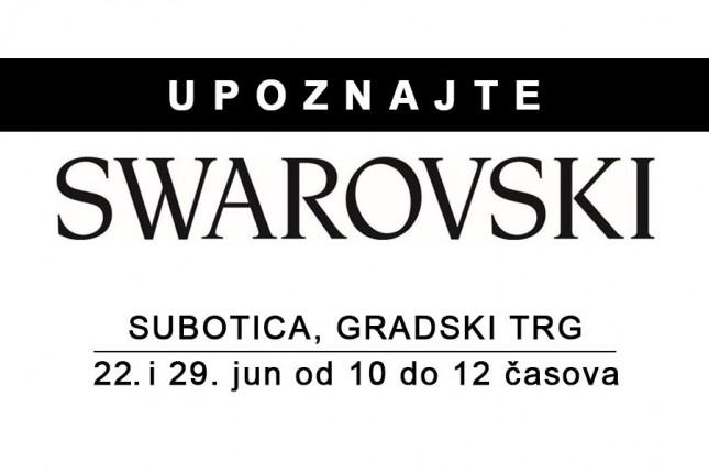 """Otvoreni dani kompanije """"Swarovski"""" na Gradskom trgu"""