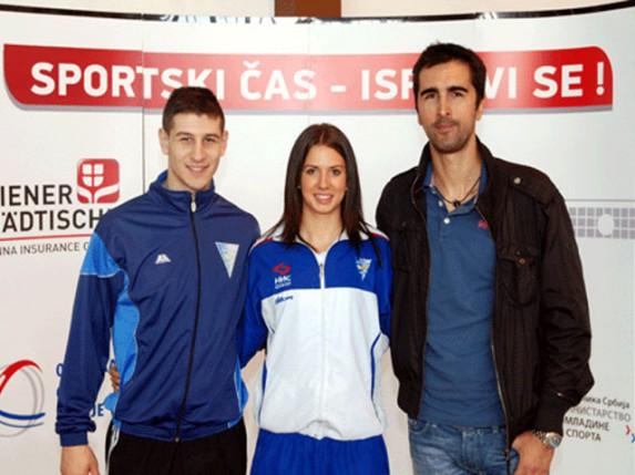 Olujić, Medić i Mešter u Bačkoj Topoli otvorili treću sezonu sportsko-edukativne akcije