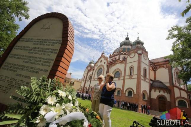 Održana komemoracija povodom deportacije subotičkih Jevreja