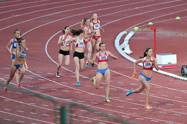 Jovana Ilić zlatna na Balkanskom šampionatu u atletici