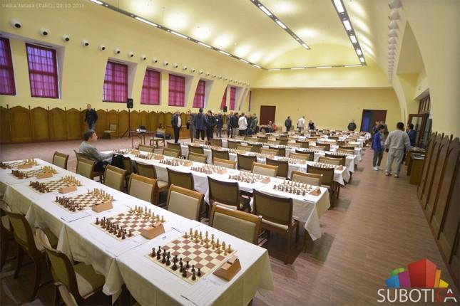 Sedlak vodi na šahovskom turniru na Paliću