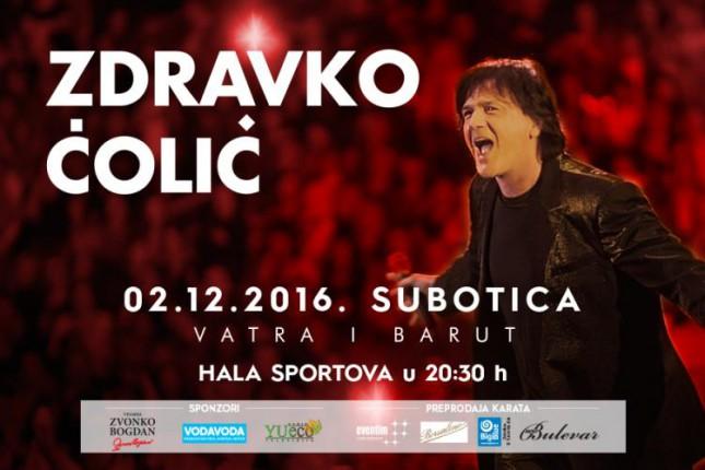 Koncert Zdravka Čolića u Subotici