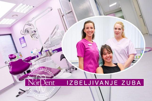 Izbeljivanje zuba po akcijskim cenama u NorDent-u