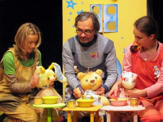 Teatar u pelenama Dečjeg pozorišta