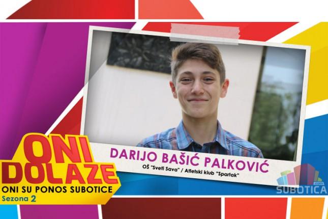 """Oni dolaze: Darijo Bašić Palković, maturant OŠ """"Sveti Sava"""" i član Atletskog kluba """"Spartak"""""""