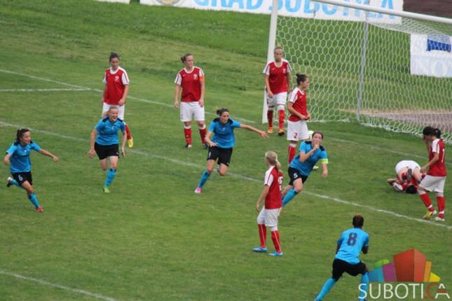 Velika pobeda fudbalerki Spartaka u derbiju kola protiv Napretka (1:0)