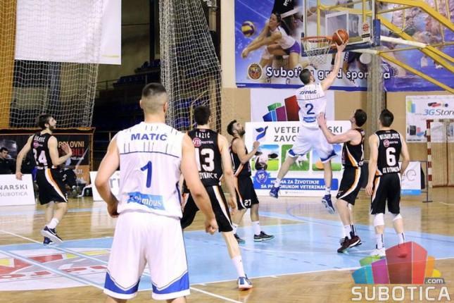 Košarkaši Spartaka poraženi od Dinamika (72:80)